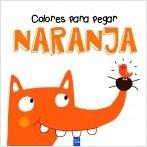 Colores para pegar. Naranja